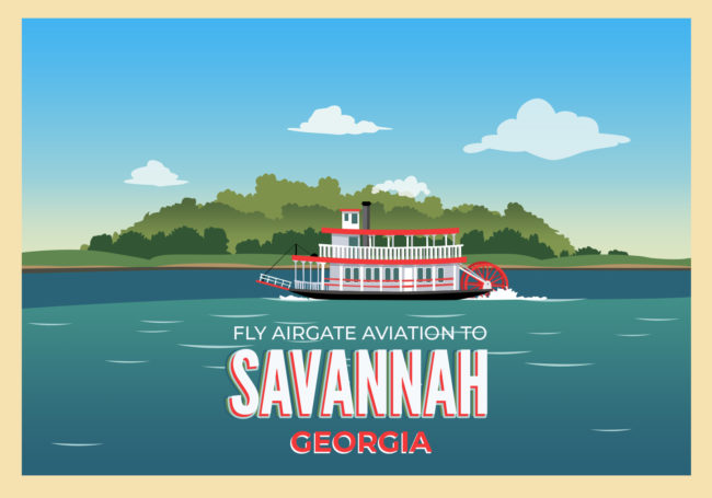 Fly to Savannah