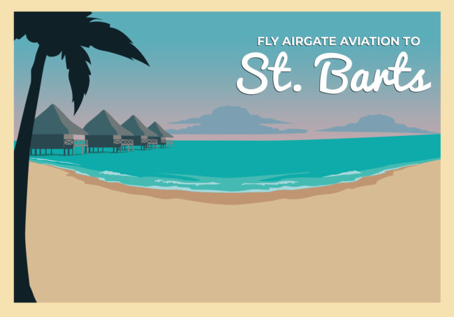 Fly to St. Barts